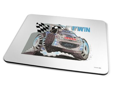 Kico Automotive Placemat - 206 Rally