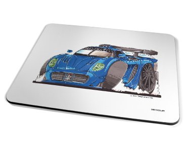 Kico Automotive Placemat - Maserati