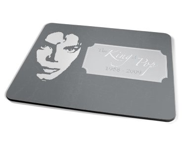 Kico Celebrities Placemat - Grey Jacko