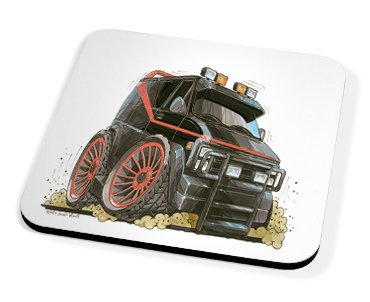 Kico Automotive Coaster - A-Team
