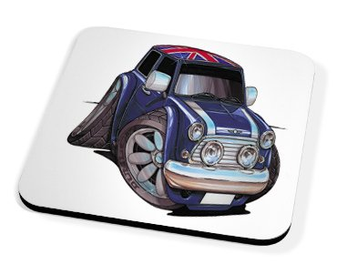 Kico Automotive Coaster - British Mini