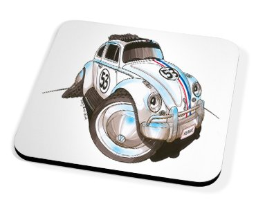 Kico Automotive Coaster - Herbie Beetle