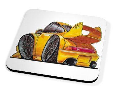 Kico Automotive Coaster - Porsche GT