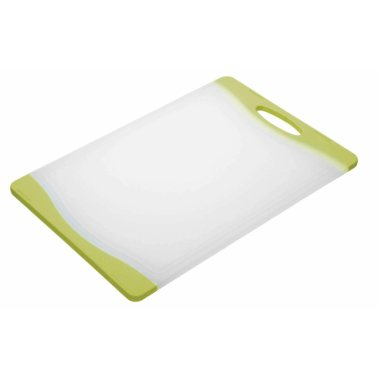 Colourworks Brights Green Reversible Chopping Board 36.5 x 25cm
