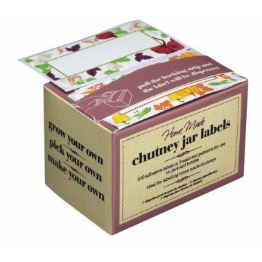 Home Made Self-Adhesive Chutney Jar Labels, Roll of 1 Hundred
