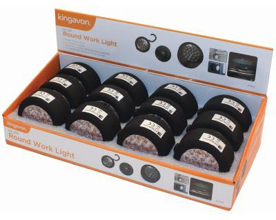 Kingavon 24 LED Round Work Light