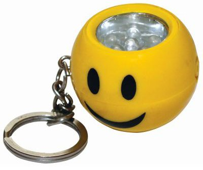 Kingavon Smiley Face 6 LED Keyring