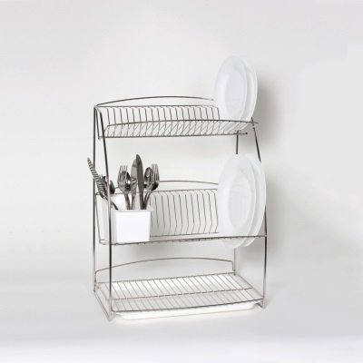 Delfinware 3 Tier Plate Rack Stainless Steel At Barnitts Online