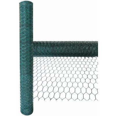 Green Blade 5m x 0.6m x 25mm PVC Coated Galvanised Wire Netting