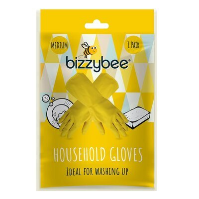 BIZZYBEE HOUSEHOLD GLOVES MEDIUM