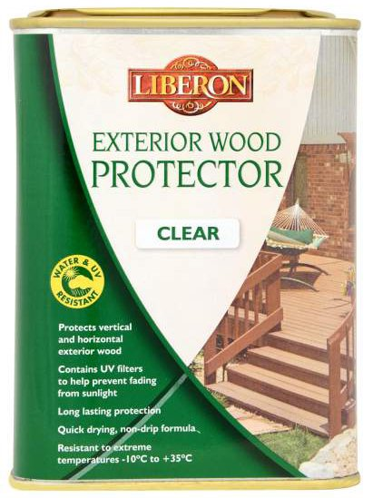 Liberon Exterior Wood Protector Clear 1 Litre At Barnitts