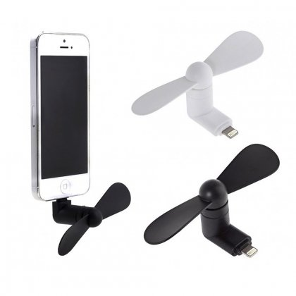 Mini Fan for iPhone 5/5S/6/6 Plus - Assorted