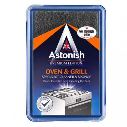Astonish Premium Edition Oven & Grill Specialist Cleaner & Sponge 250g