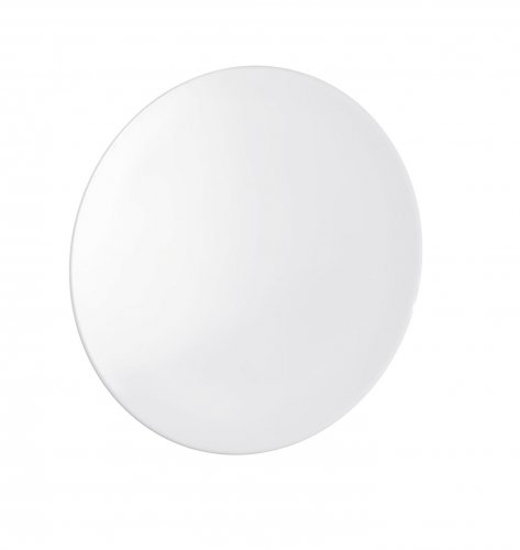 Showerdrape Polar Super Suction White Self Mounting Disc