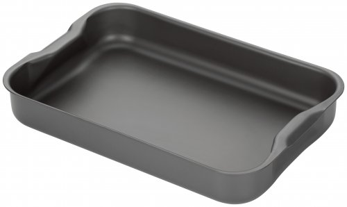 Stellar Hard Anodised Roasting Tray with Handles 30 x 20 x 5cm
