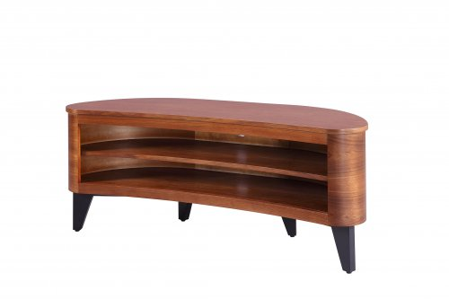 Jual San Francisco Curved TV Stand in Walnut