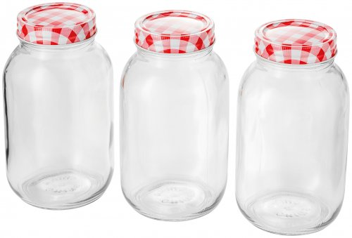 Judge Kitchen Preserving Jars 1lt (Set of 3)