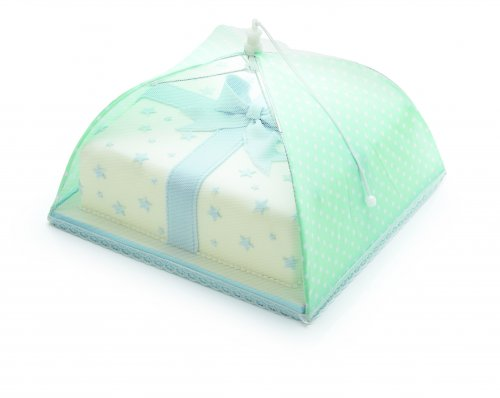 Sweetly Does It 30cm Green Polka Dot Umbrella Cake Cover