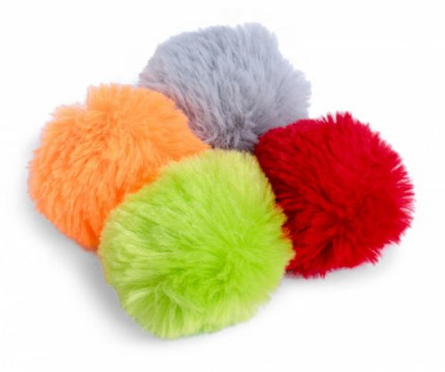 Little Petface Pom Poms (Pack of 4)