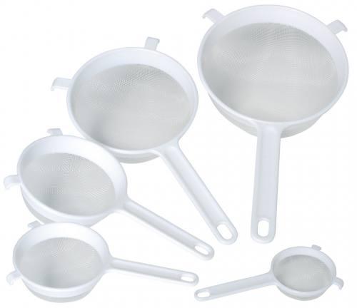 Kitchencraft Round Nylon Mesh Plastic Sieves At Barnitts