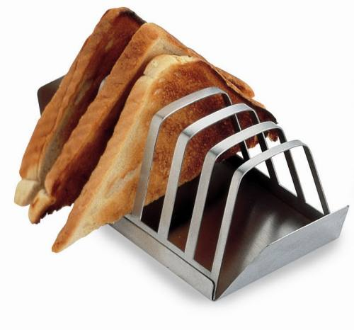 Grunwerg Stainless Steel 6 Slice Toast Rack At Barnitts