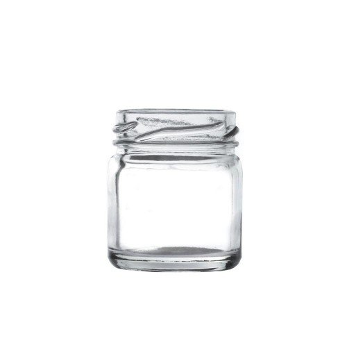 Mini Glass Jar with Gold Twist Cap 41ml / 1.5oz