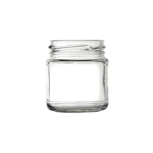 Panelled Glass Sauce Jar 106ml/4oz