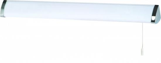 Searchlight 62cm Chrome Wall Light with White Diffuser