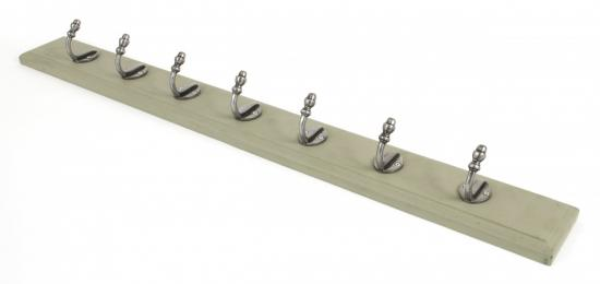 Olive Green Stable Coat Rack