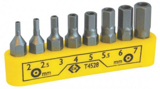 C.K Hexagon Screwdriver Bit Set of 8