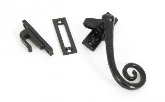 Black Locking Deluxe Monkeytail Fastener - RH