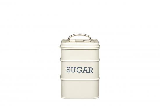 KitchenCraft Living Nostalgia Sugar Tin Antique Cream