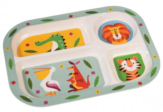 Rex Colourful Creatures Melamine Tray