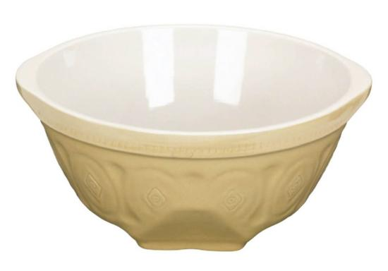 Home Made Traditional Stoneware 26.5cm Mixing Bowl