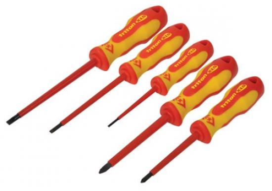 C.K Triton XLS Insulated Screwdriver 5 Piece Set