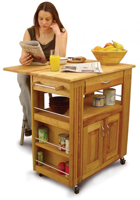 Catskill Craftsmen Heart Of The Kitchen Island Trolley With Drop Leaf At Barnitts Online Store Uk Barnitts