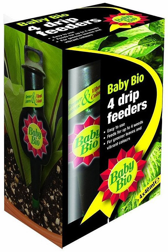 Baby Bio Drip Feeders 40ml Pack Of 4 At Barnitts Online Store Uk Barnitts