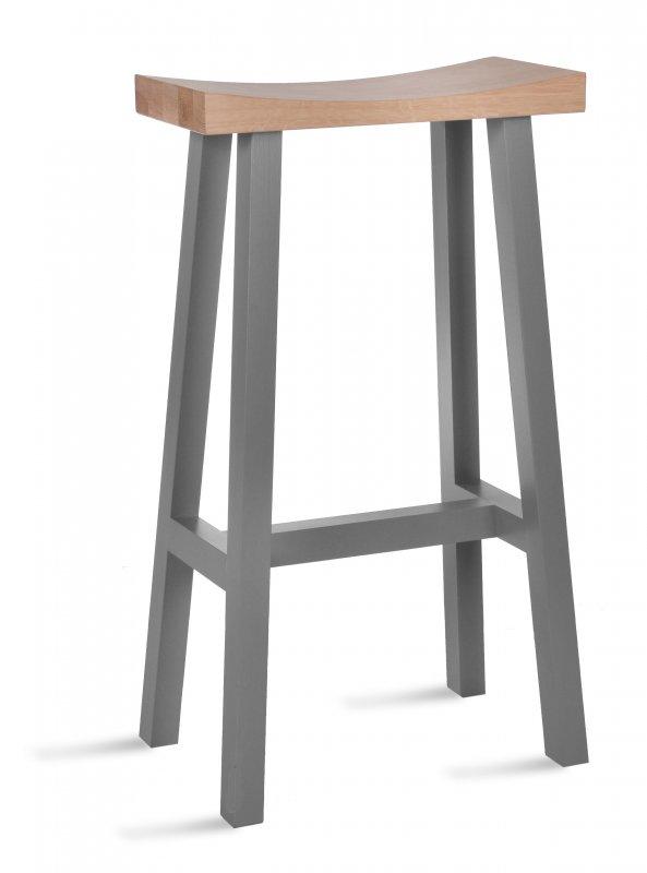 Terrific Garden Trading Tall Clockhouse Stool In Charcoal Oak Uwap Interior Chair Design Uwaporg