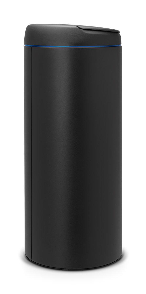 Brabantia 30 Litre Flip Bin In Anthracite With Dark Grey
