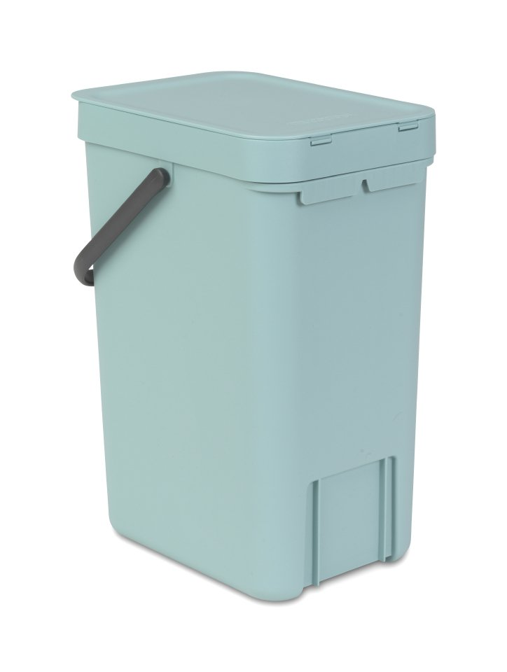 Brabantia Sort Amp Go 12 Litre Waste Bin In Mint At Barnitts