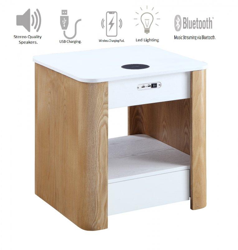Jual San Francisco Smart BedsideLamp Table with USB