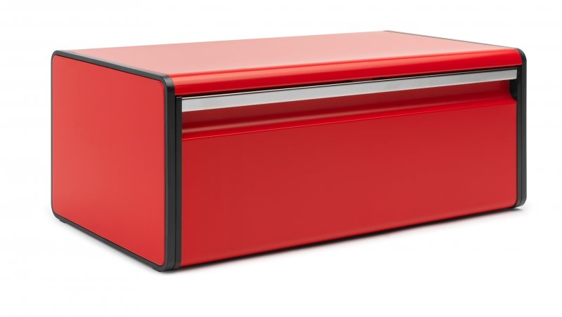 Brabantia Fall Front Bread Bin In Passion Red At Barnitts