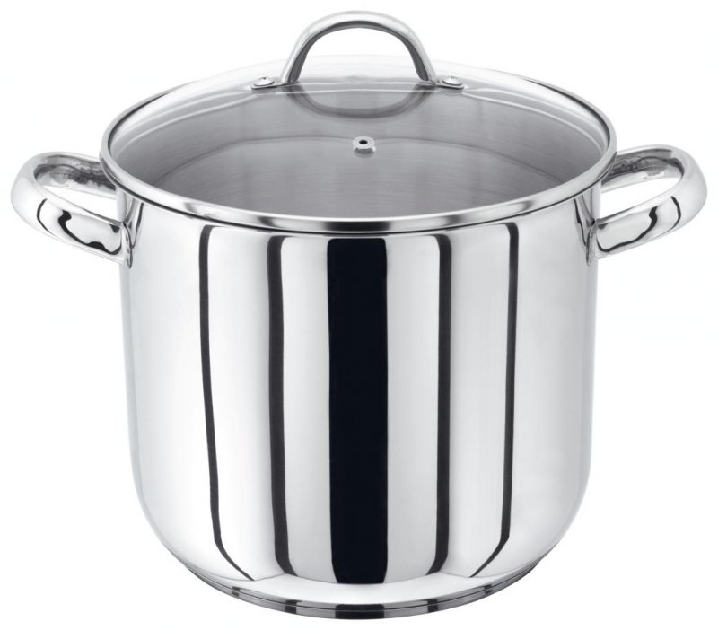 Judge Stainless Steel Stockpot With Vented Glass Lid 22cm
