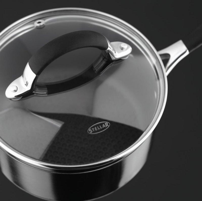 Stellar 3000 Non Stick Saut 233 Pan 28cm At Barnitts Online