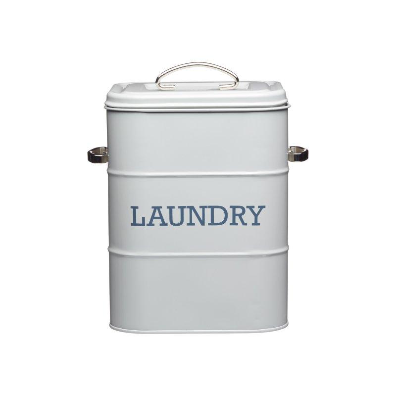 French Laundry New Kitchen: KitchenCraft Living Nostalgia Laundry Canister French Grey