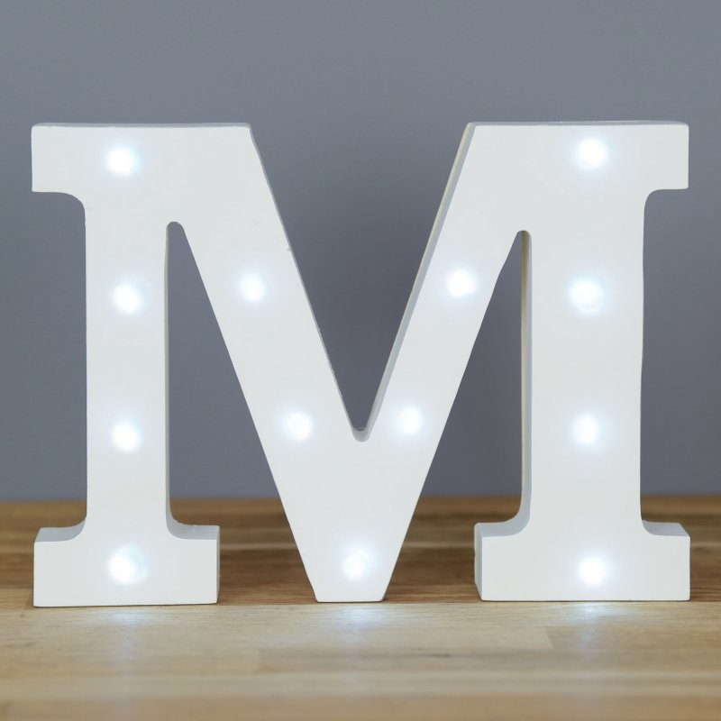 Up In Lights Alphabet Letter M At Barnitts Online Store