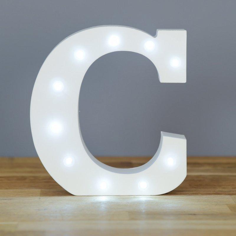 Up In Lights Alphabet Letter C At Barnitts Online Store