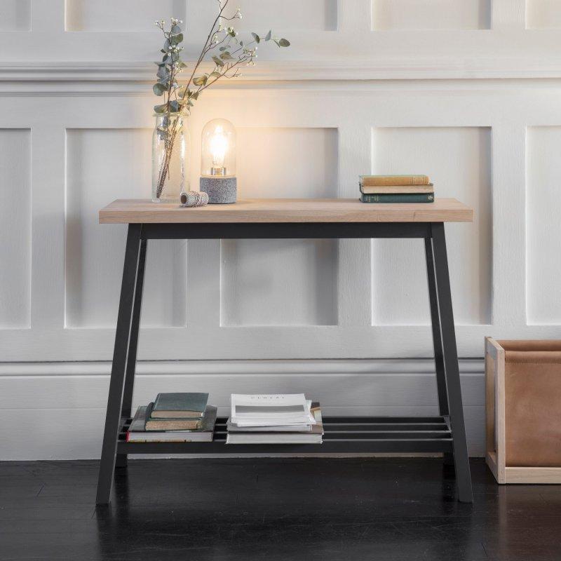 Pleasing Garden Trading Clockhouse Console Table Carbon At Barnitts Inzonedesignstudio Interior Chair Design Inzonedesignstudiocom