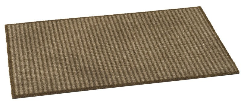 Bruce Starke Ambiance Barrier Design Mat 117 Stripes Brown