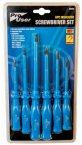 Blackspur 6 Piece Screwdriver Set